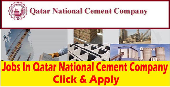 Jobs In Qatar National Cement Company 2019 | Africancompetition com