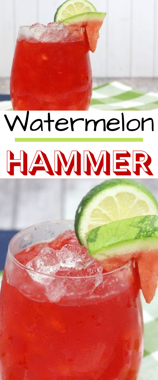Watermelon Hammer Cocktails #drinks #cocktails