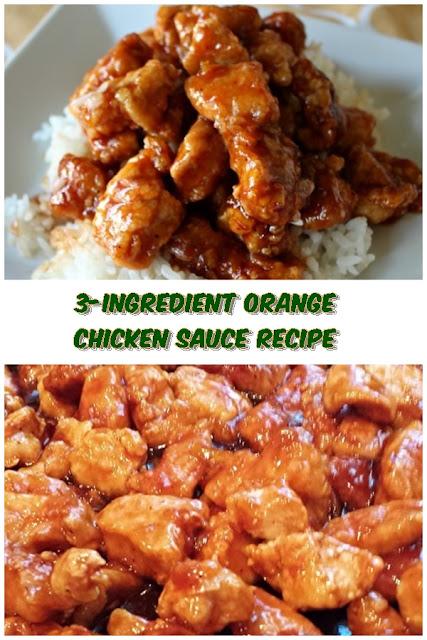 3 #Ingredient #Orange #Chicken #Sauce #Recipe #chickenrecipes #recipes #dinnerrecipes #easydinnerrecipes