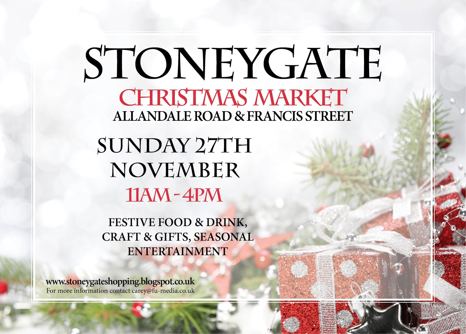 Stoneygate shops stoneygate christmas market sciox Image collections