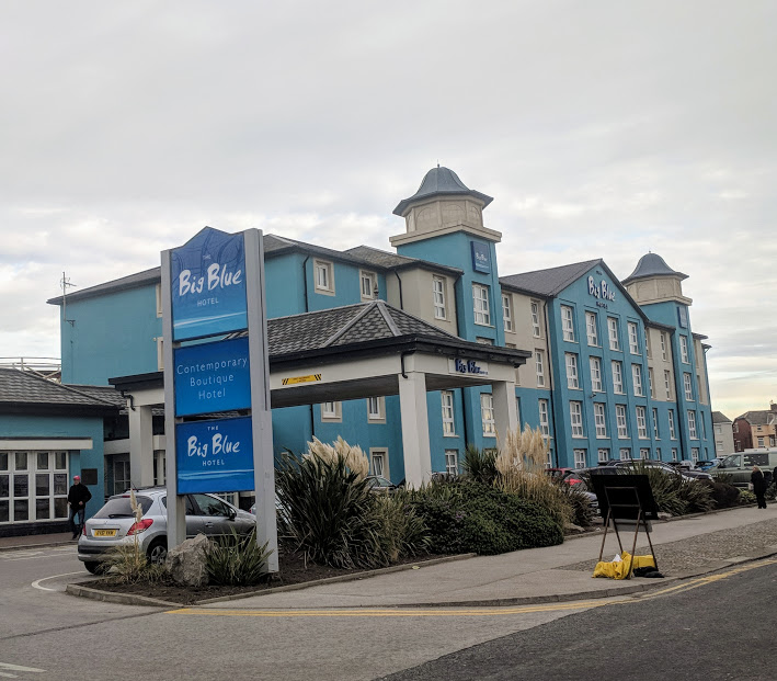 The Big Blue Hotel Blackpool | Pleasure Beach Package & Deluxe Family Room Review  - exterior photo