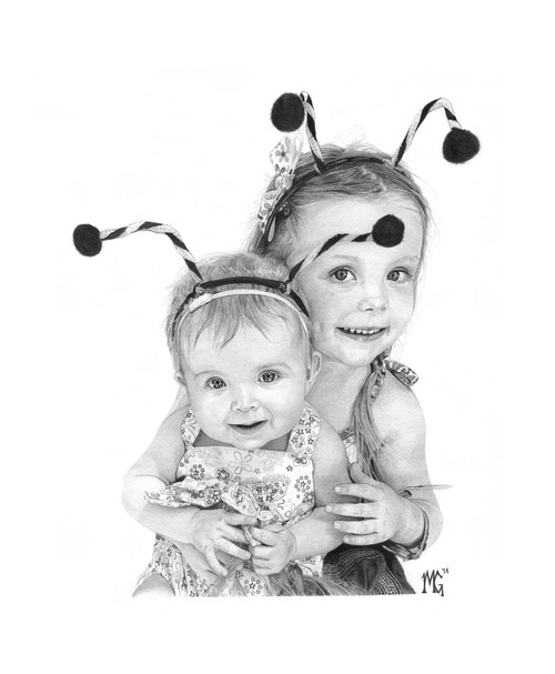 03-Avery-and-Ella-Grace-Matthew-Greskiewicz-Realistic-Graphite-and-Charcoal-Drawings-www-designstack-co