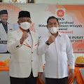 Ketua DPD PKS Sidrap Silaturahmi dengan Presiden PKS Bersama Kader Sulsel