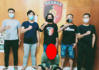Diduga Mencuri Handphone, Seorang Pemuda di Torut Diamankan Polres Torut