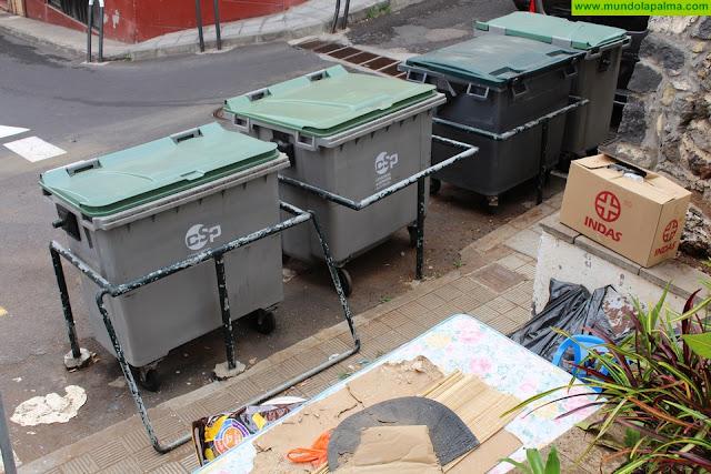 El Ayuntamiento de Santa Cruz de La Palma modifica el sistema de recogida de enseres en la capital