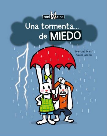 libro infantil para el miedo a las tormentas y fenómenos naturales
