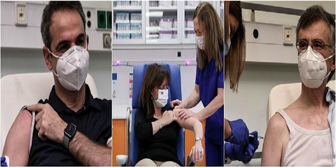 Κορονοϊός: Ξεκίνησαν οι εμβολιασμοί - Ποιοι πολιτικοί έκαναν ήδη το εμβόλιο