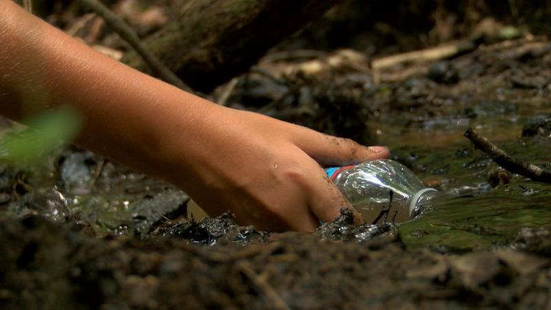 Menemukan air yang bersih