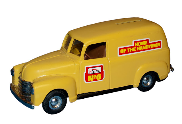 A delivery van is No. 6 in the Home Hardware bank/truck series.