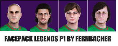 PES 2020 Facepack Legends 1 by Fernbacher