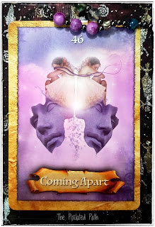 Enchanted Map Oracle Card: Coming Apart