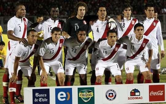 Formación de Perú ante Chile, Copa del Pacífico 2012, 21 de marzo