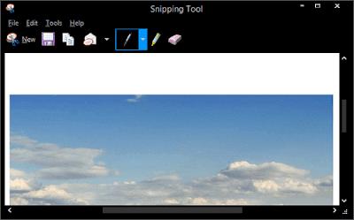 aplikasi screenshot pc bawaan windows
