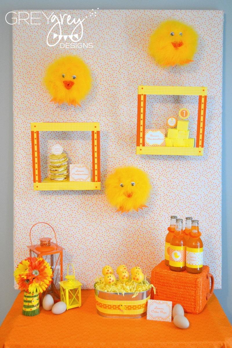 Greygrey Designs Spring Chicken Party Styled Shoot