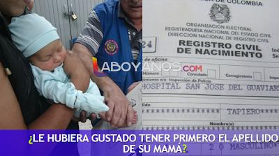 Por ley, en Colombia se podrá elegir el orden de los apellidos