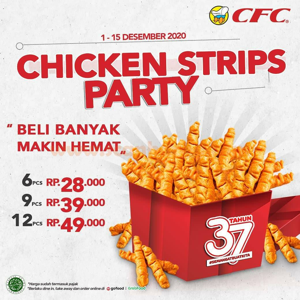 CFC Promo Chicken Strips Party Harga Mulai Rp 28.000*