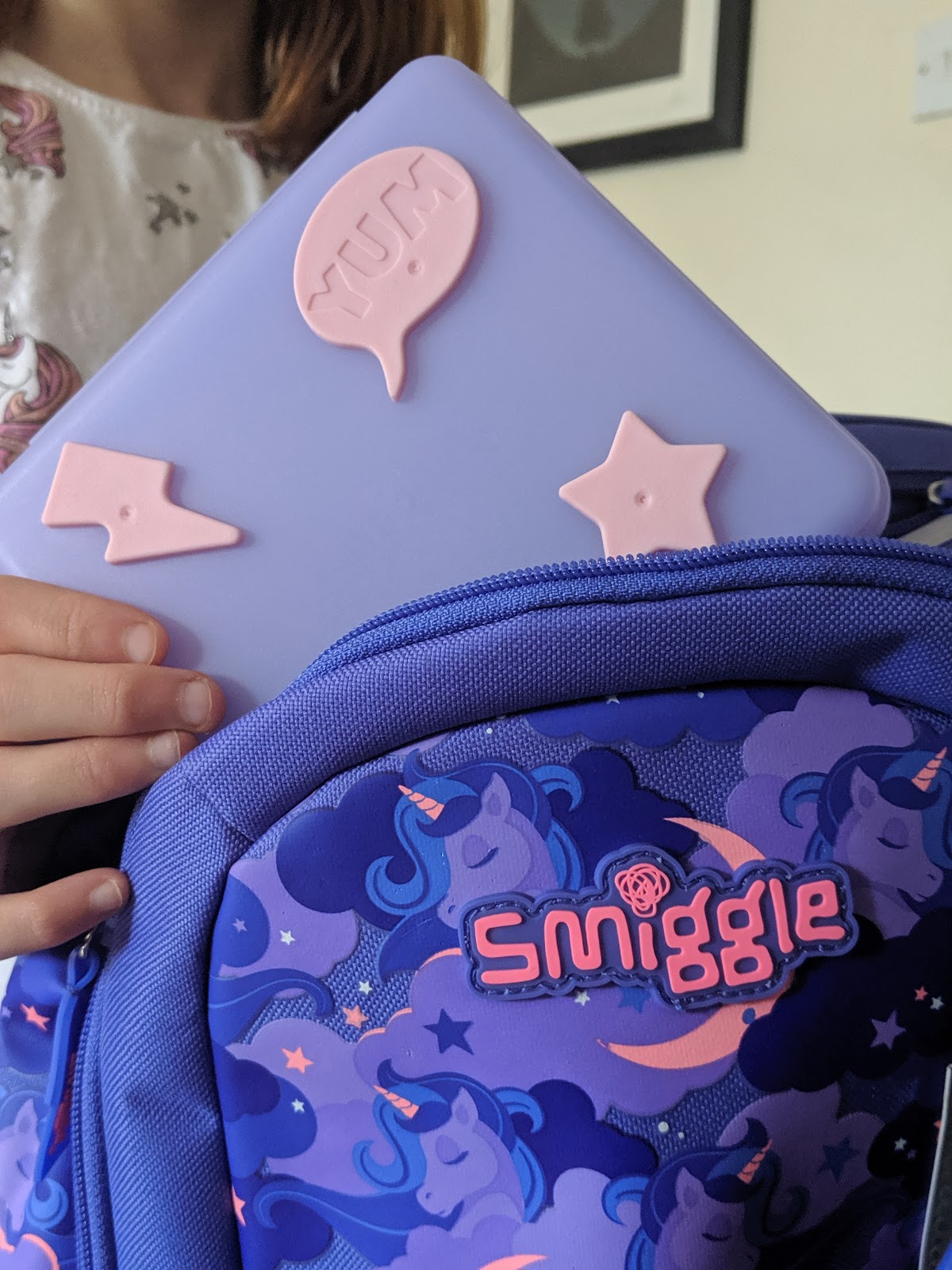 Top Tips for Surviving Year 6 at School (& Smiggle giveaway) - Smiggle Sandwich Box and Backpack