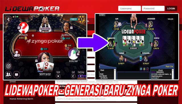 Lidewapoker Poker Uang Asli