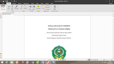 Convert word ke pdf kedua