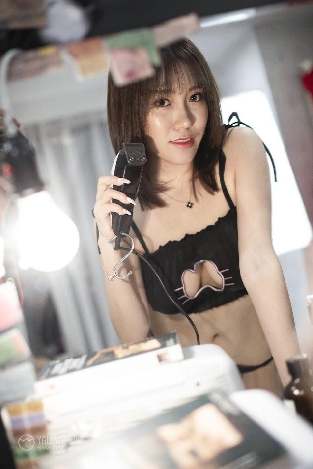 YALAYI雅拉伊  2018.12.18 NO.146 喵女郎 陈奕菲