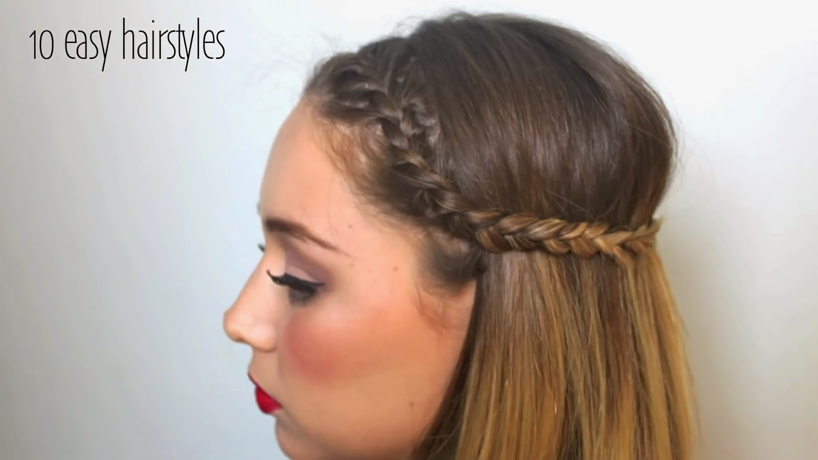 Fine Stylevia Top 10 Easy Hairstyles Can Set In 5 Minutes Short Hairstyles Gunalazisus