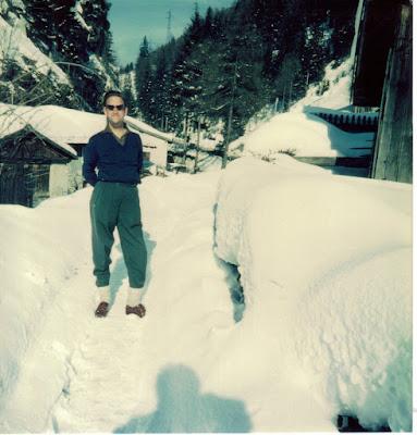 Na Afrika de sneeuw in Oostenrijk
