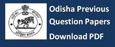 Odisha Previous Papers