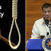 Pangulong Duterte nais buhayin Death penalty para sa Drug crimes!