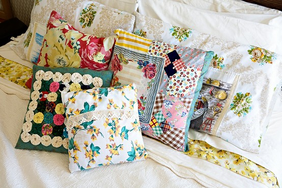 Things To Make From Vintage Fabric