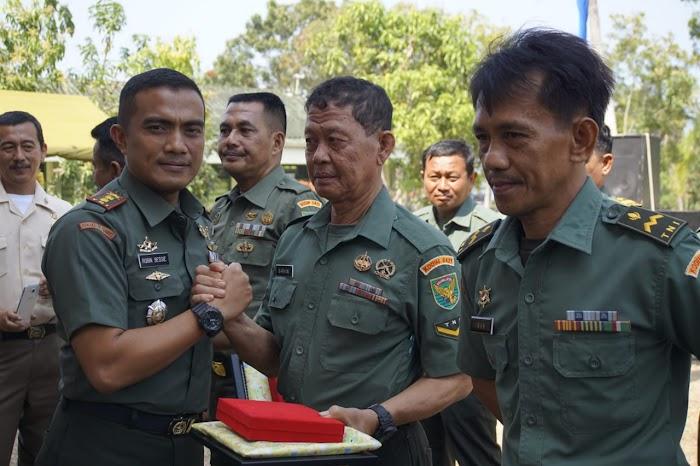 14 Anggota Kodim 0421 Lamsel Memasuki (MPP) Masa Persiapan Pensiun.