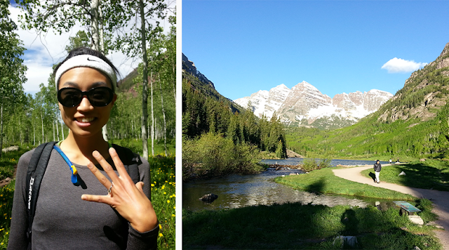 The Jen Project on how Jen was proposed to in Maroon Bells, Colorado.