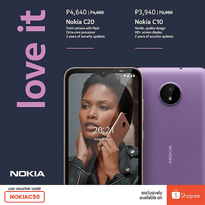 Nokia C10, C20