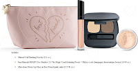 Bare Minerals I HEART My Best Friend set moxie lipgloss eyeshadow duo makeup bag