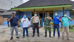 Gelar Bhakti Sosial Bagi Sembako Dan Masker Bersama Aliansi Jurnalistik Online Indonesia (AJOI)