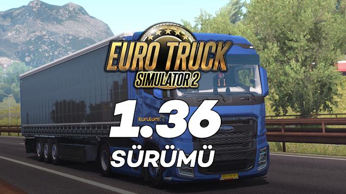 Euro Truck Simulator 2 1.36 + 70 DLC Tek Link İndir