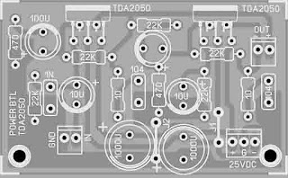 How to make a TDA 2030 BTL power amplifier