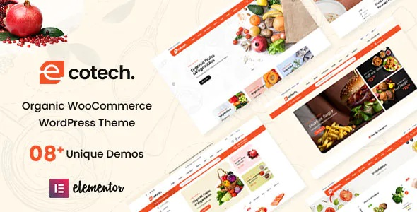 Best Organic, Food, Multipurpose WooCommerce Theme