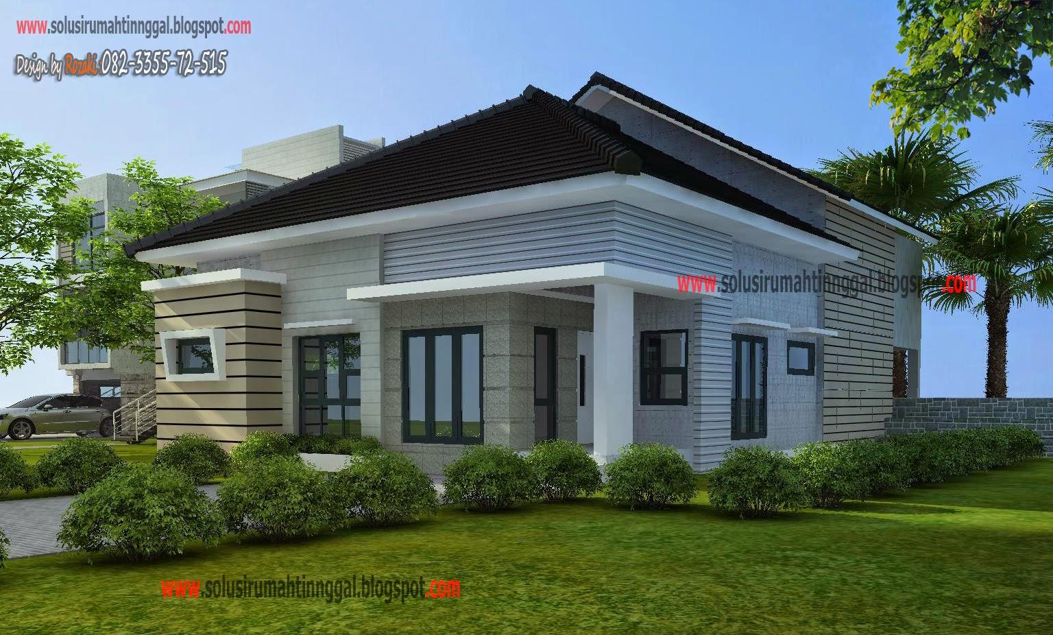 Rumah Mezzanine Minimalis Layanan Jasa Gambar Arsitek Desain Konsep Satu