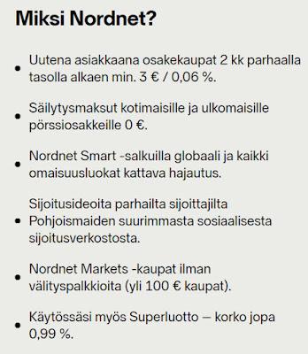 Miksi valita Nordnet osakevälittäjäksi