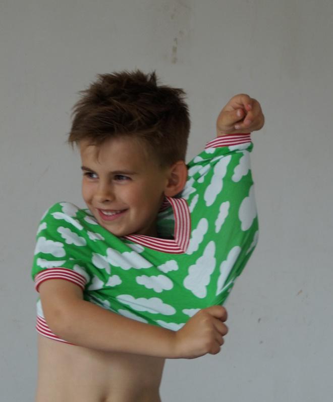 Naaisgerief stoeferij over een v hals en een nieuw oud naaimachien for Deco slaapkamer jongen jaar oud