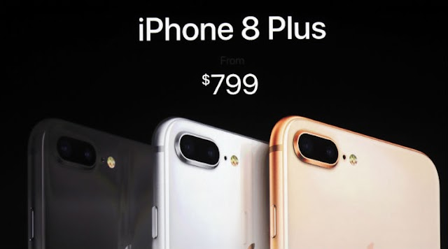 سعر الايفون 8 و 8 بلس والايفون X الرسمي