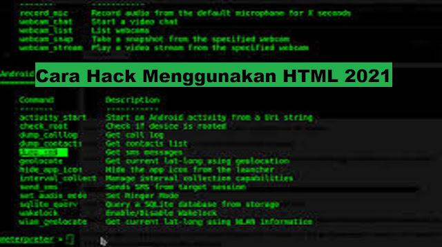 Cara Hack WA Menggunakan HTML