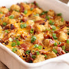 BACON AND EGGS TATER TOT CASSEROLE