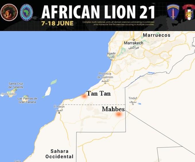 El ejército marroquí se une al Othmani y contradice al AFRICOM: Sostiene en un comunicado que las maniobras sí se harán en Mahbes. (Sáhara Occidental)