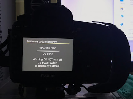 Update Canon 5D mark IV firmware