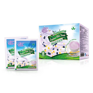 Green World Blueberry Soybean Milk Drink