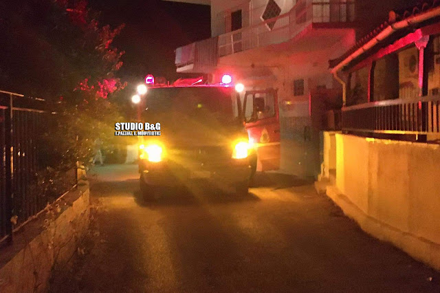 Καλώδιο της ΔΕΗ προκάλεσε την επέμβαση της Πυροσβεστικής στο Τολό