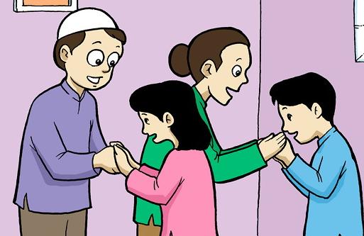 Jadilah Anak yang dapat Menghormati Orang Tua dan Berbakti ...