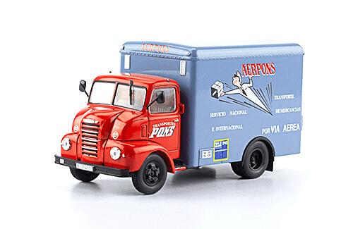 Ebro B35C 1966 Transportes PONS 1:43 vehículos de reparto y servicio salvat