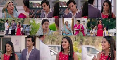 "Yeh Rishta Kya Kehlata Hai Episode 23rd March 2020 Written Update "" Naira Doubts On Kartik ""."